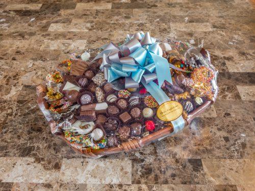 assorted chocolate basket