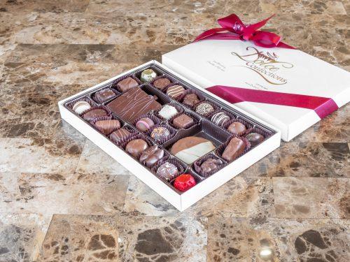 1 lb. assorted chocolate box.
