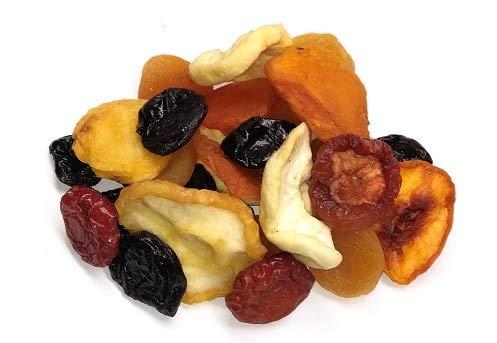 close up mixed dry fruits.