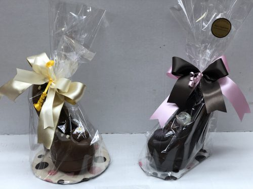 Chocolate High Heel.