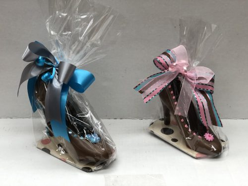 Chocolate high heel