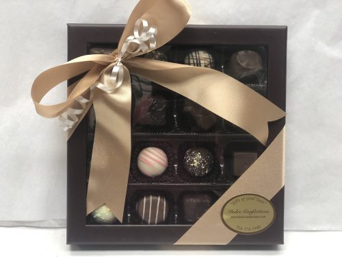 16 piece assorted truffles.